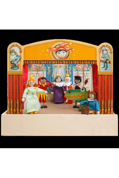 Loutkové divadlo - 3 královské pohádky