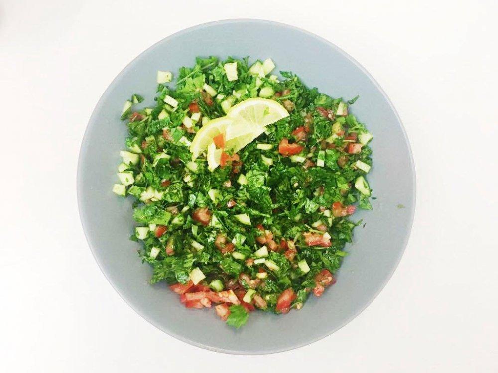 petrželový salat