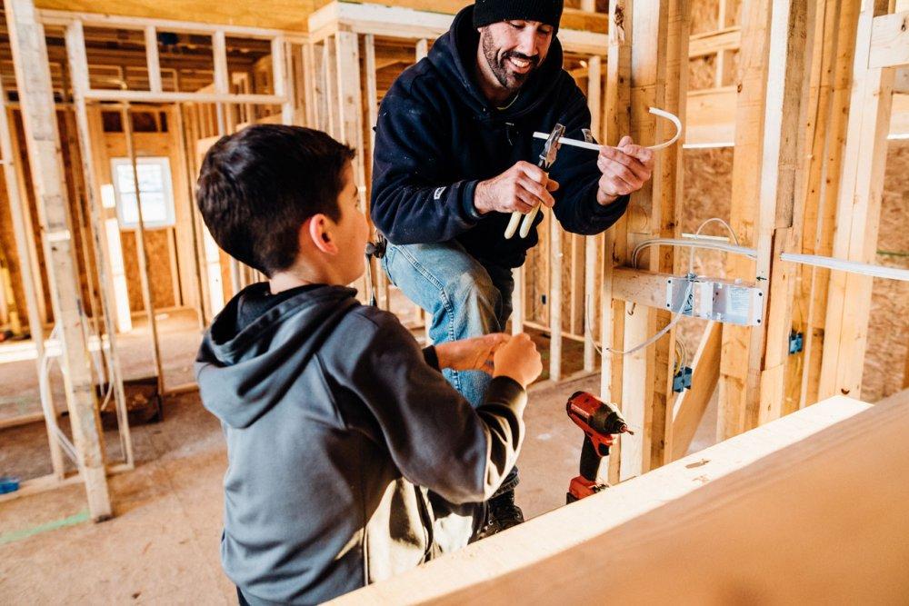 Konstrukcni stavebnice pro kluky
