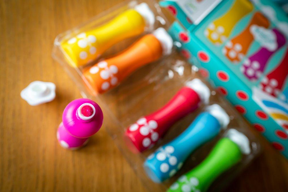 Pěnová barvy s aplikátorem Djeco- vánoční dárek 2 roky
