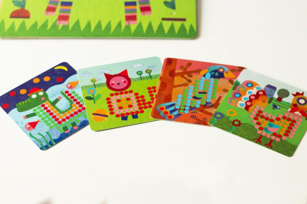 mozaika djeco drevena