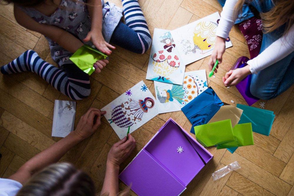Kreativita děti-folie