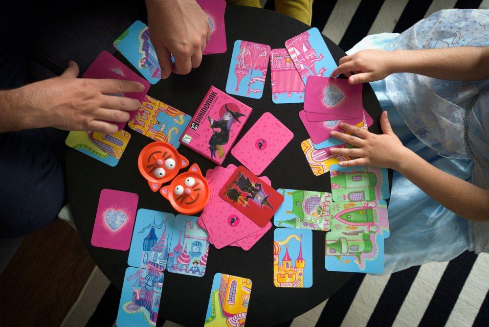 karetní hra djeco čarodějky