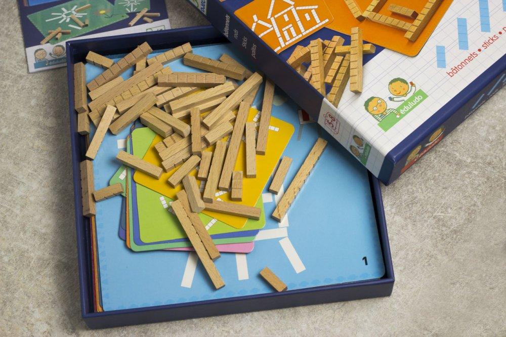 Vzdělávací hra tyčinky