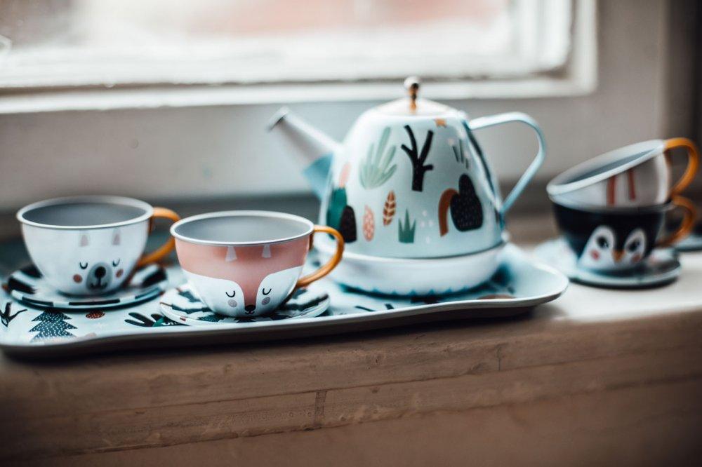 Hudební čajový servis pro děti Vilac