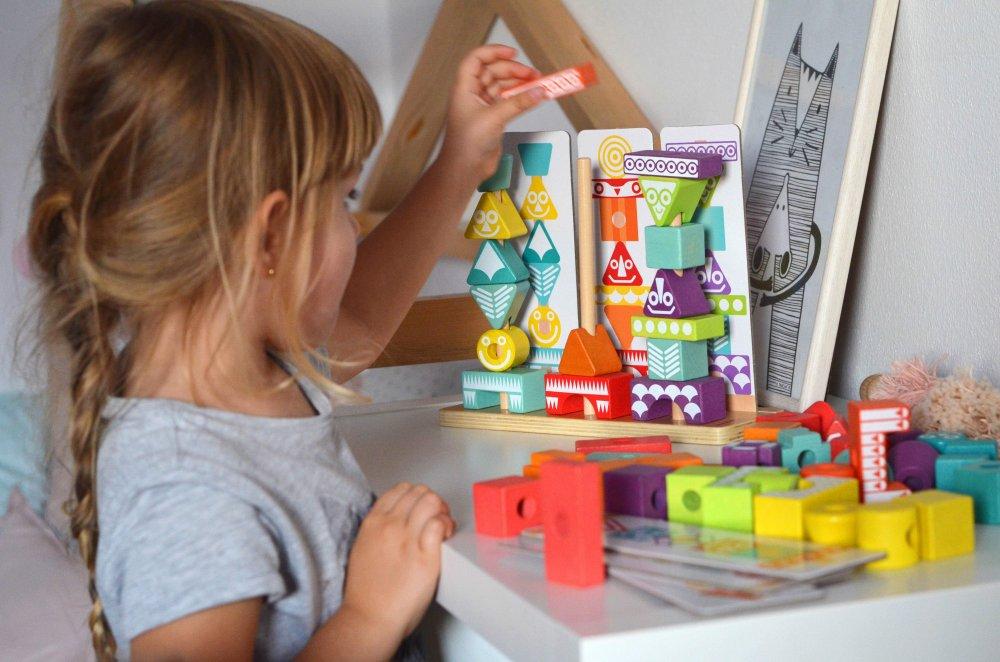 Logická skládačka Totem pro děti